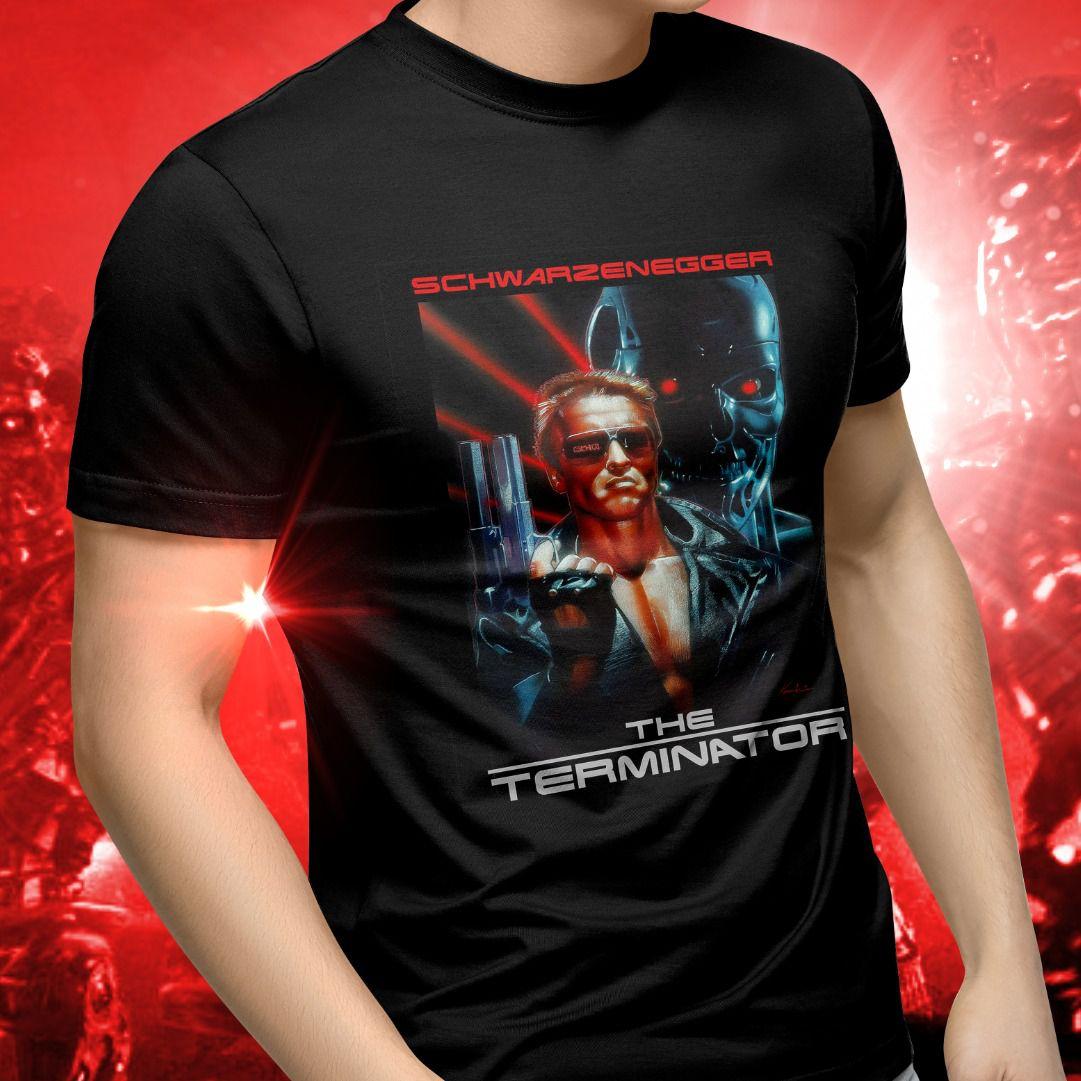 Camiseta Unissex Poster O Exterminador do Futuro (The Terminator)