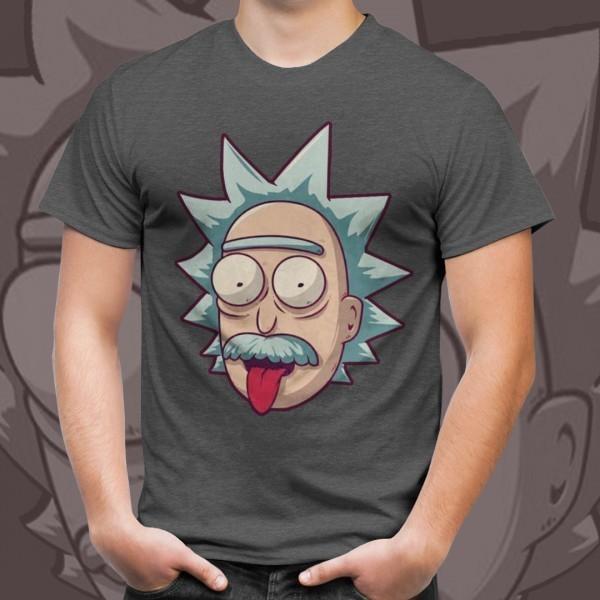 """Camiseta Unissex Ricky """"Einstein"""" - EV"""