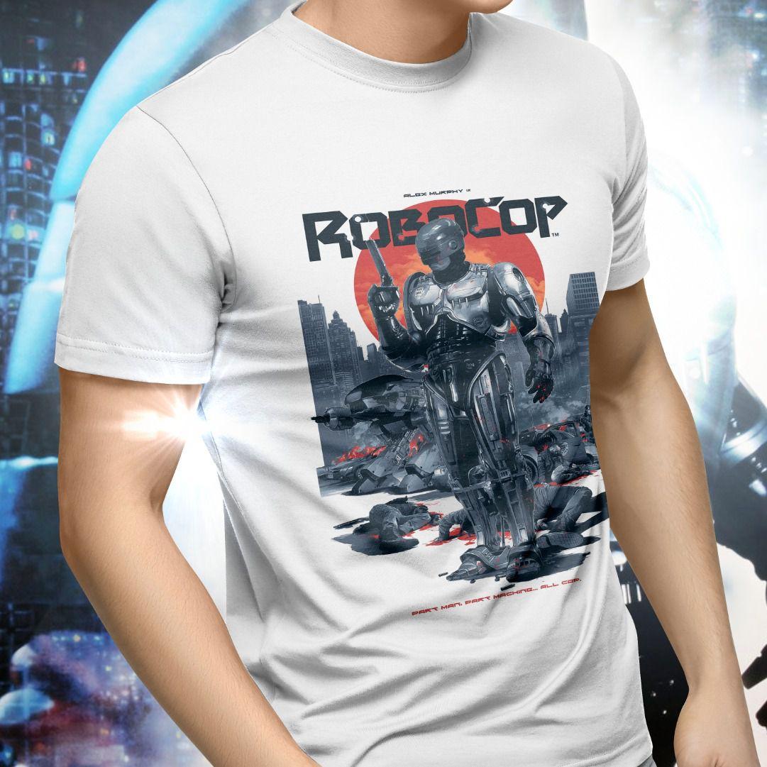 Camiseta Unissex RoboCop