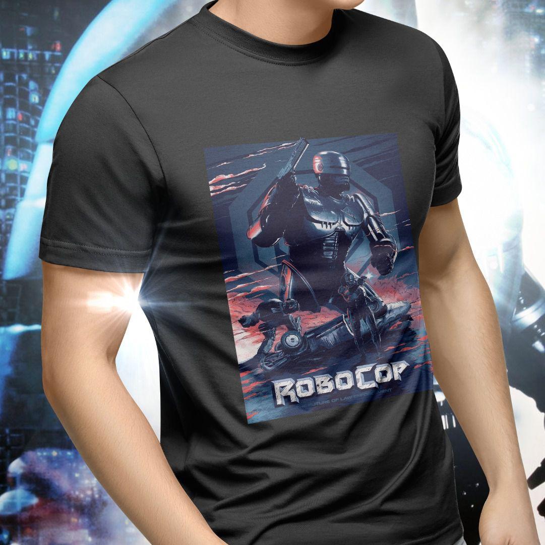 Camiseta Unissex RoboCop Vs ED-209: RoboCop