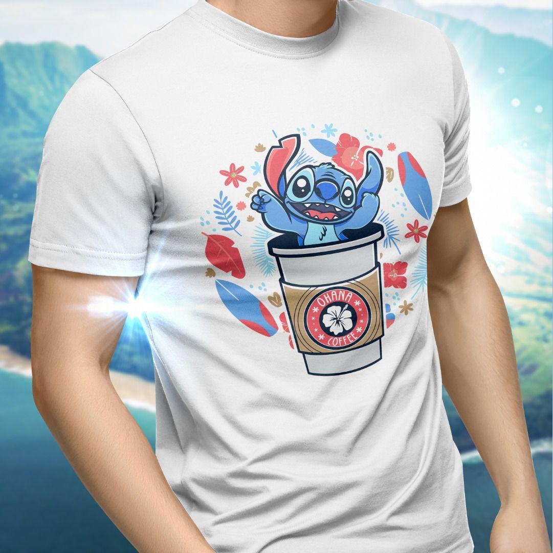 Camiseta Unissex Stitch