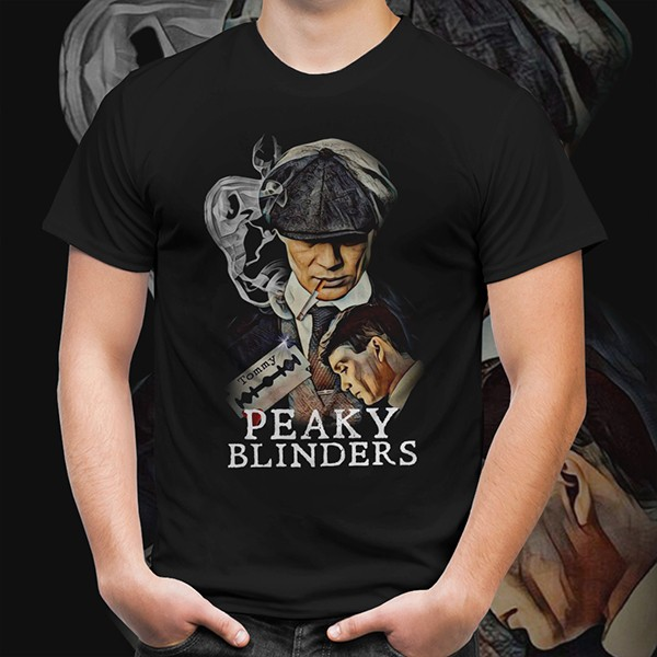 Camiseta Unissex Thomas Shelby: Peaky Blinders - EV