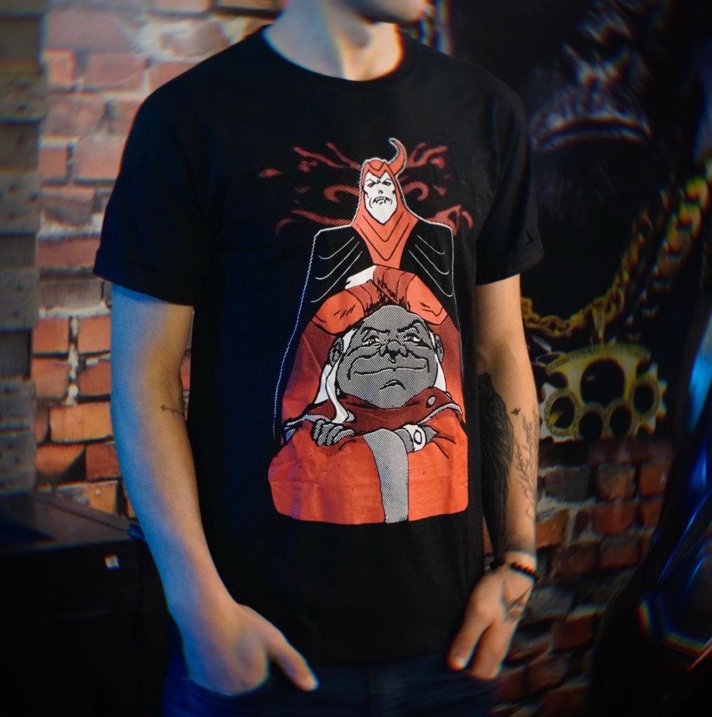 Camiseta Unissex Vingador e Mestre Dos Magos: Caverna Do Dragão Tamanho M