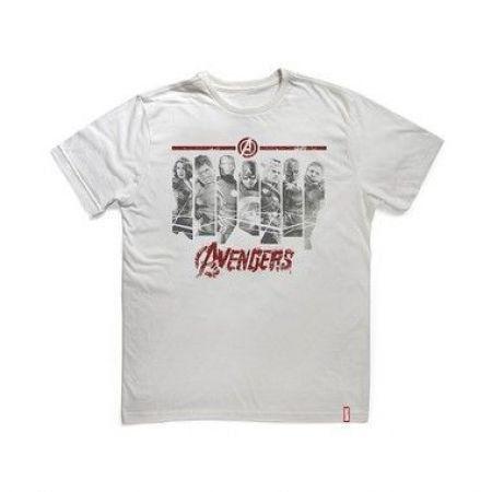 Camiseta Vingadores Era de Ultron Faixas - Studio Geek