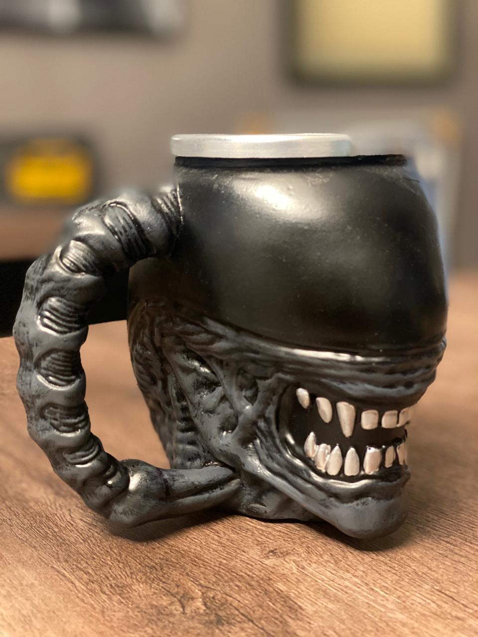 Caneca 3D Alien Xenomorfo: Alien, o Oitavo Passageiro