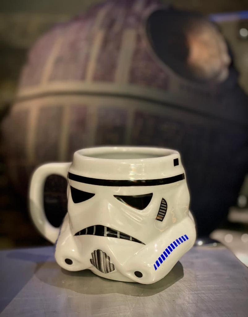 Caneca 3D Capacete Stormtrooper: Star Wars