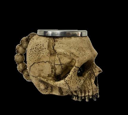 Caneca 3D Caveira - EV