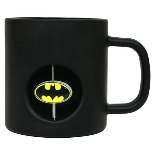 Caneca 3D com Logo Giratório: Batman - SD TOYS