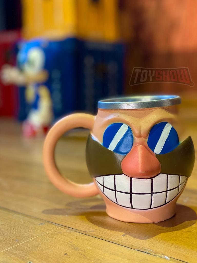 Caneca 3D Doutor Eggman: Sonic