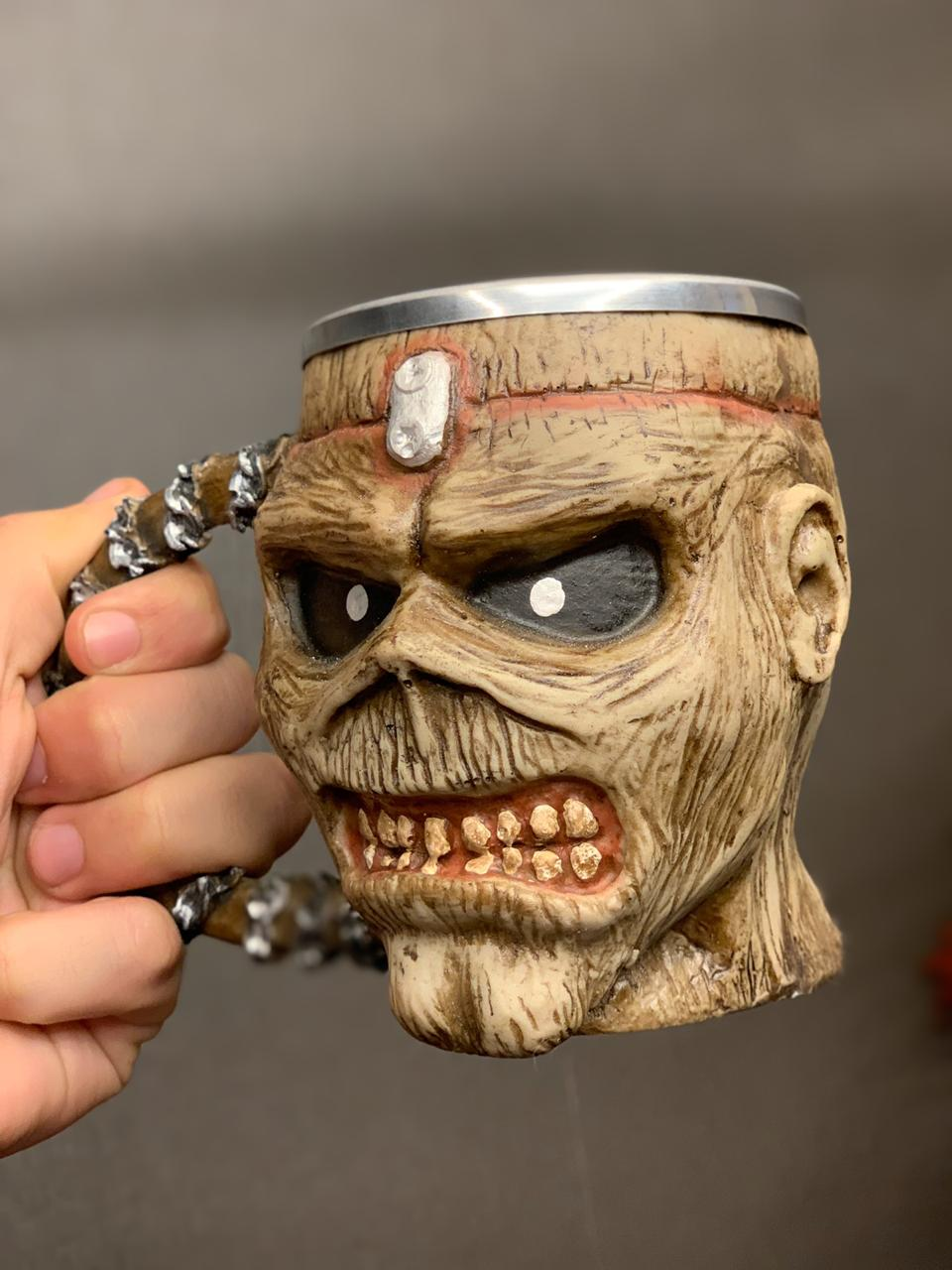 Caneca 3D Eddie: Iron Maiden (300ml) - EV