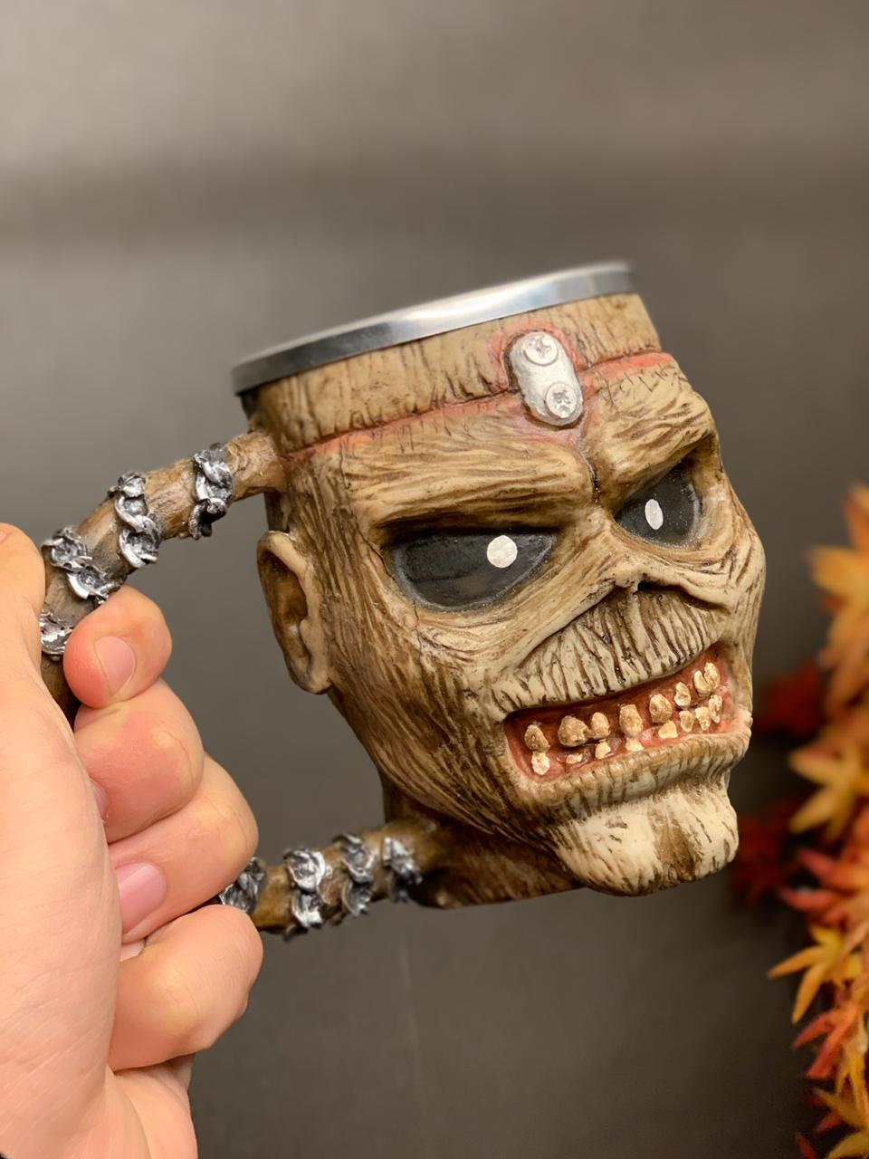 Caneca 3D Eddie: Iron Maiden (300ml)