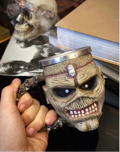 Caneca 3D Eddie: Iron Maiden (300ml) - EV