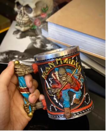 Caneca 3D Eddie Iron Maiden Invasion of Rarities - EV