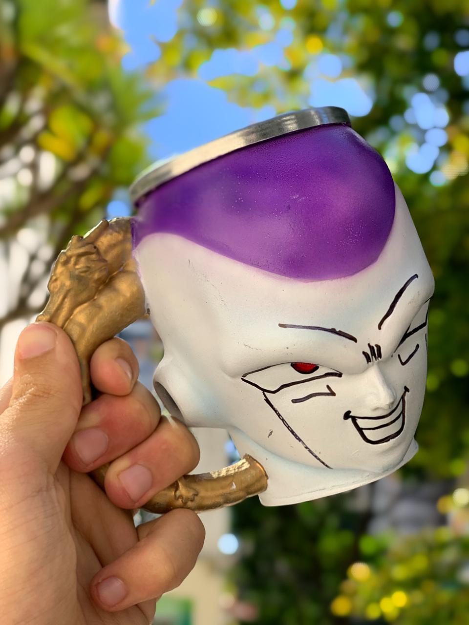 Caneca 3D Freeza : Dragon Ball Z