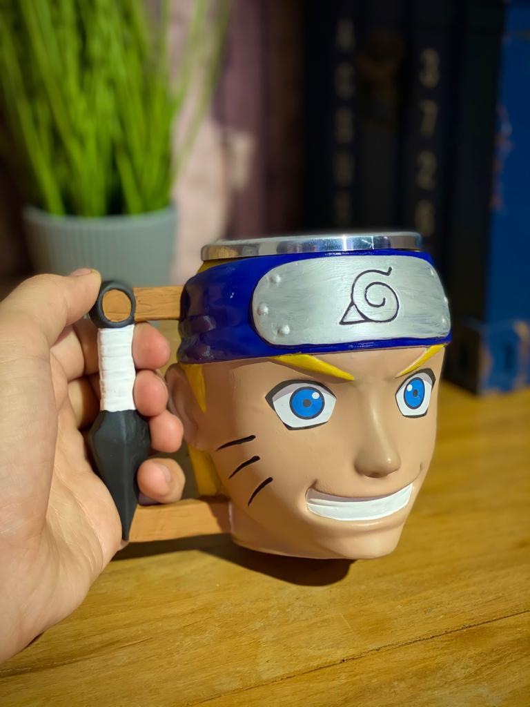 Caneca 3D Geek Naruto: Naruto