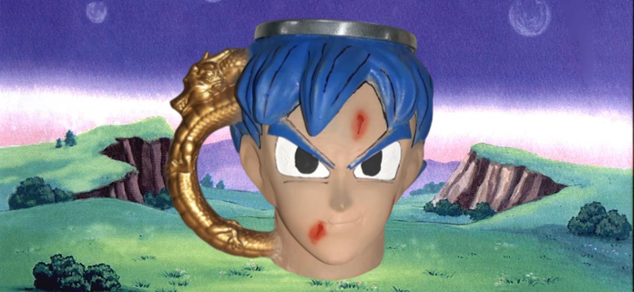 Caneca 3D Goku Super Sayajin Blue: Dragon Ball Super