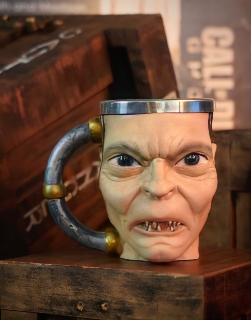 Caneca 3D Gollum Smeagol: O Hobbit - Senhor Dos Aneis The Lord of The Rings