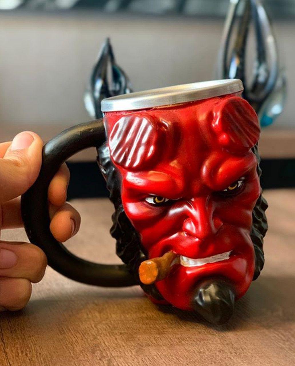 Caneca 3D Hellboy (300ml)