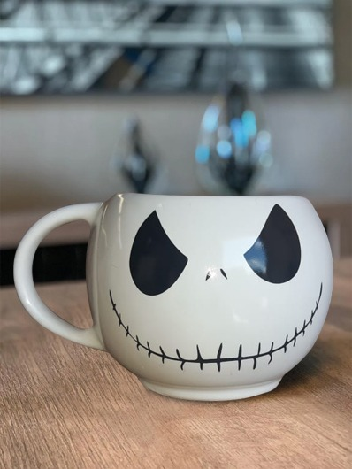 Caneca 3D Jack Skellington O Estranho Mundo de Jack The Nightmare Before Christmas - EV