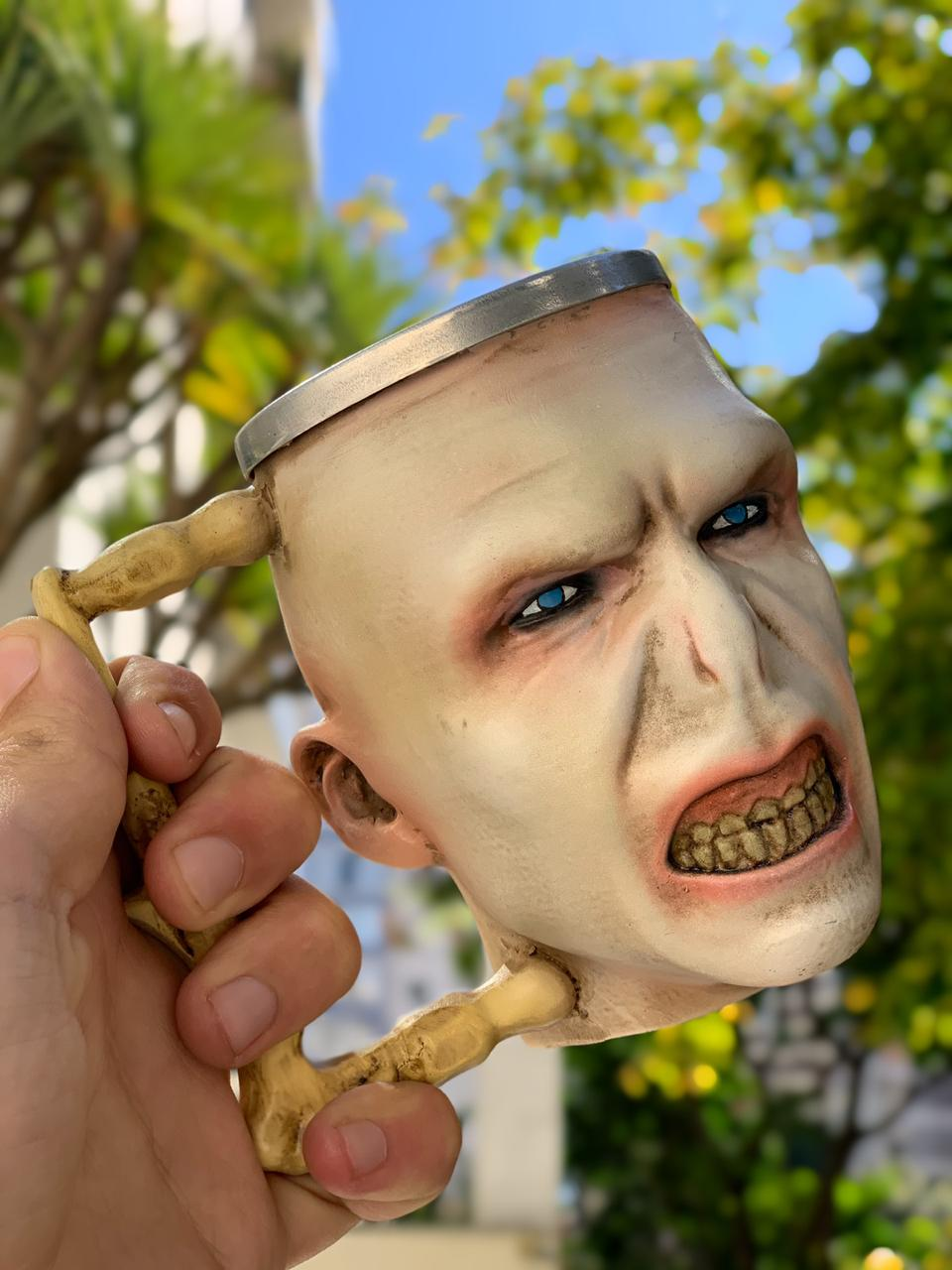 Caneca 3D Lord Voldemort: Harry Potter