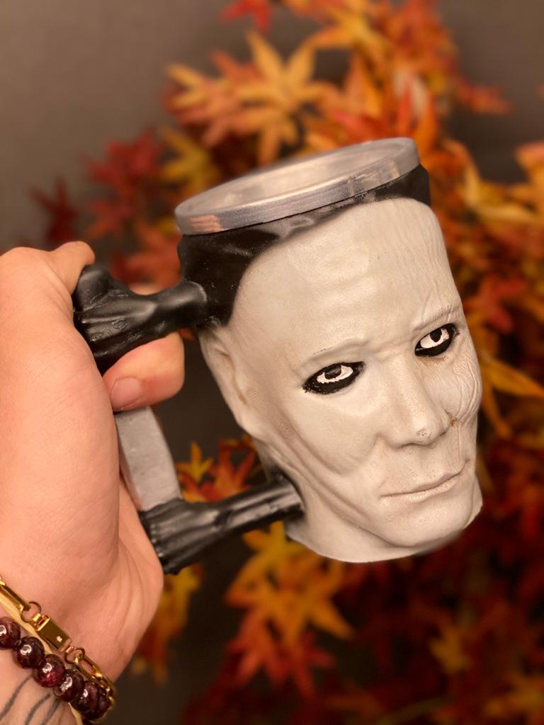 Caneca 3D Michael Myers: Halloween