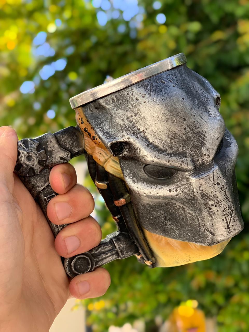 Caneca 3D Predador (Yautja): Predador