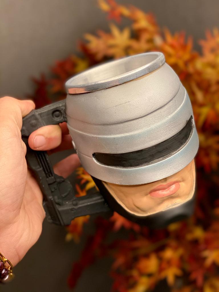 Caneca 3D Robocop: Robocop O Policial do Futuro