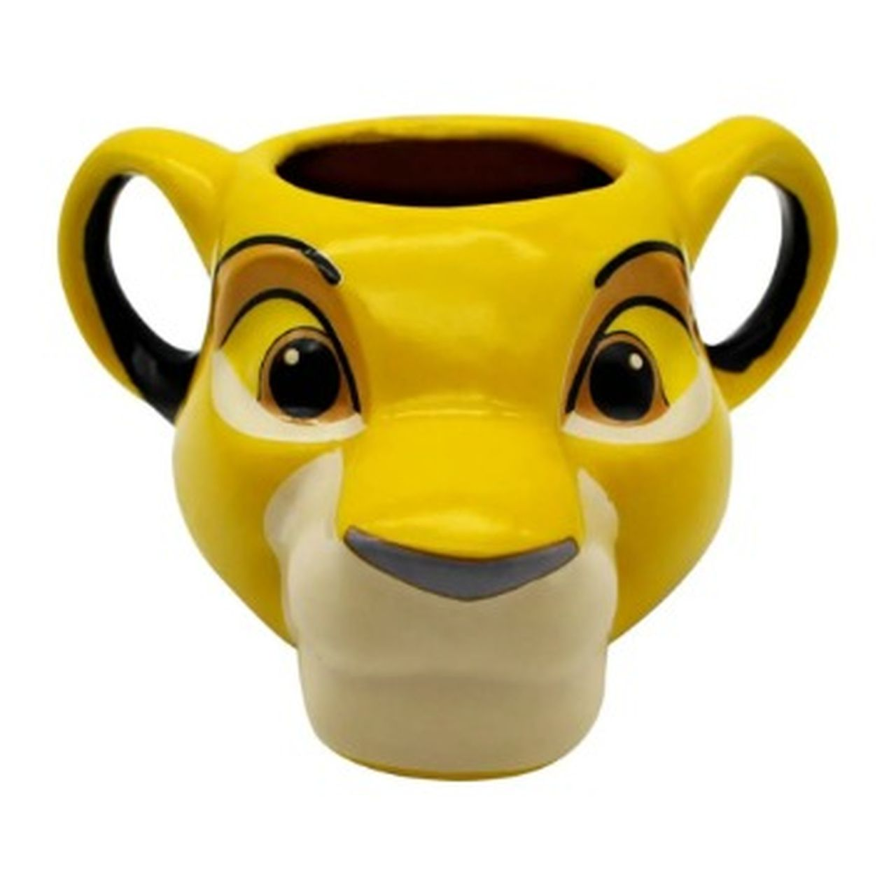 Caneca 3D Simba: O Rei Leão (The Lion King) - (350ML)