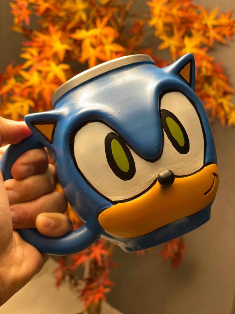 Caneca 3D Sonic: Sonic
