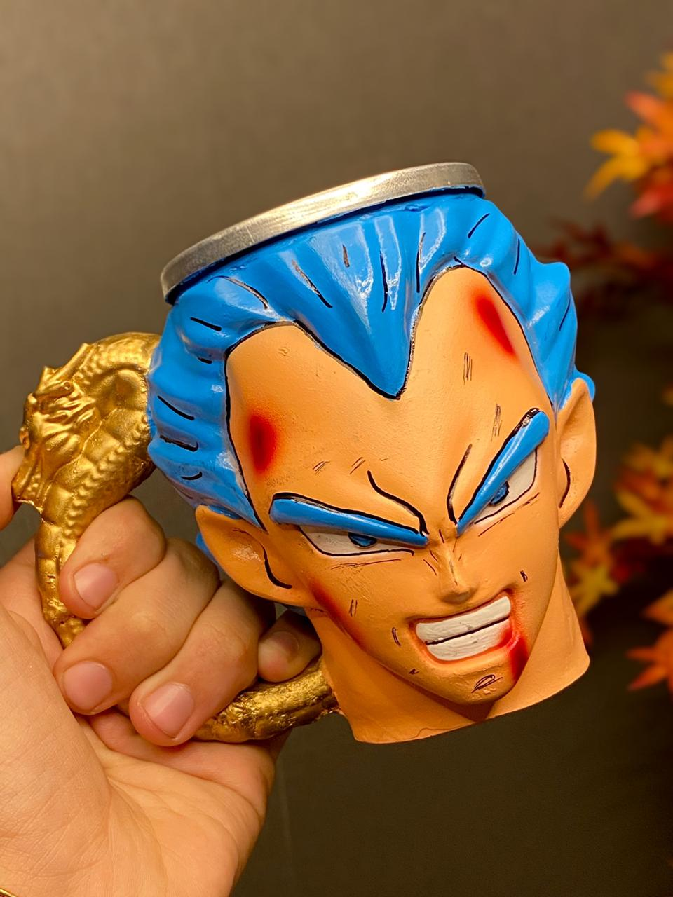 Caneca 3D Vegeta Blue: Dragon Ball