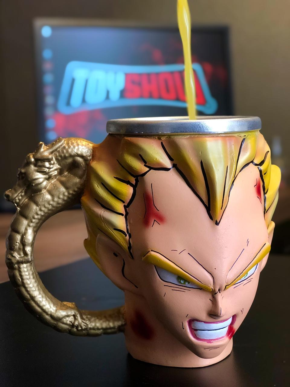 Caneca 3D Vegeta: Dragon Ball Z