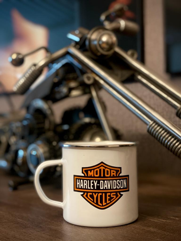 Caneca Ágata Harley-Davidson - (500ML)