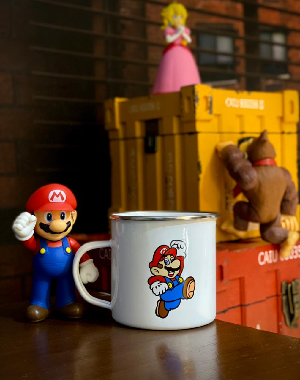 Caneca Ágata Mario: Super Mario Bros - (500ML)