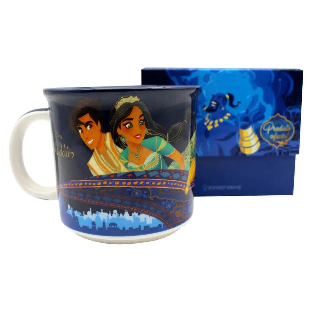 Caneca Aladdin: Disney - (350ML)
