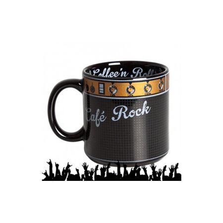 Caneca Amplificador Café Rock'N Roll (Coffee Rock) Preta