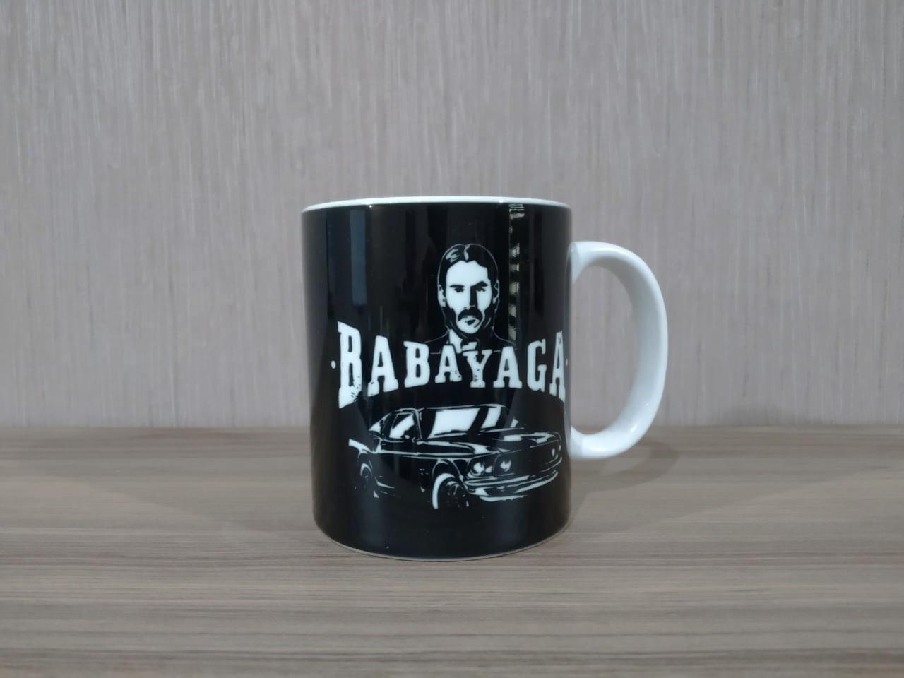 Caneca: ''Babayaga'' - John Wick