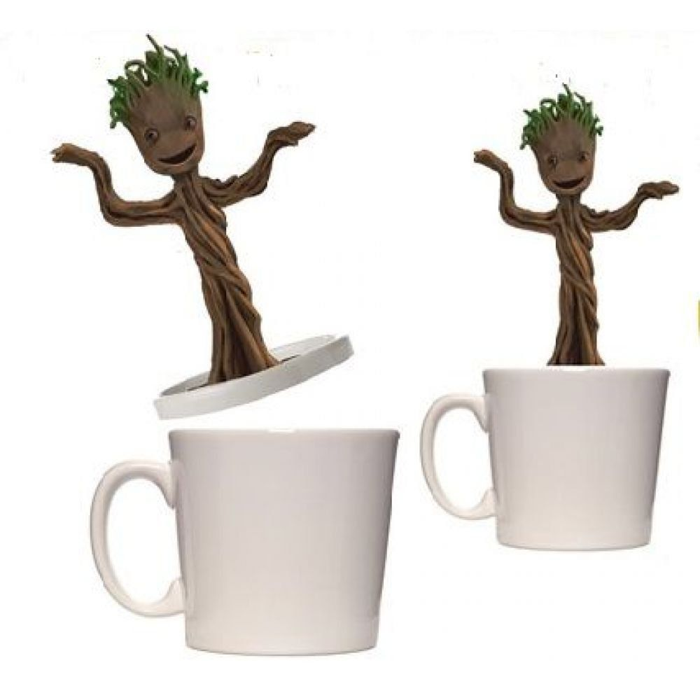 Caneca Baby Dancing Groot Guardiões da Galáxia - Entertainment Earth
