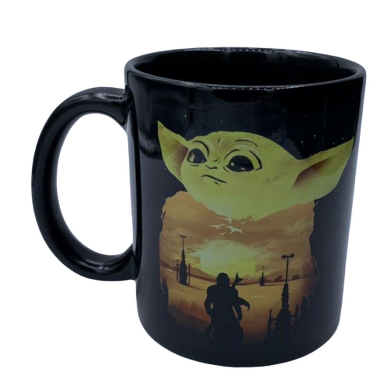 Caneca Baby Yoda (The Child): The Mandalorian (Star Wars) - Exclusiva ToyShow