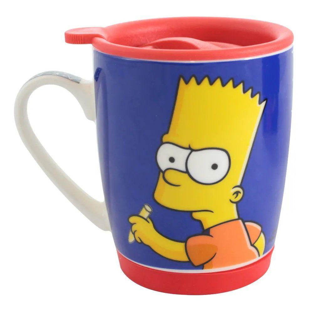 Caneca Bart Simpson: Os Simpsons - (350ML)