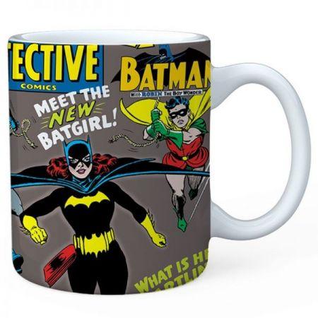 Caneca Batgirl Detective Dc Comics