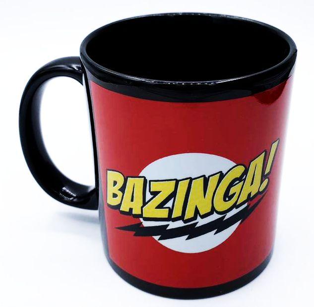 Caneca Bazinga!: The Big Bang Theory