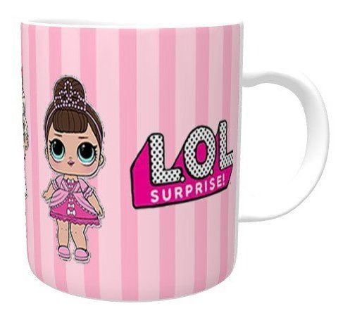 Caneca Boneca LoL Doll Surprise