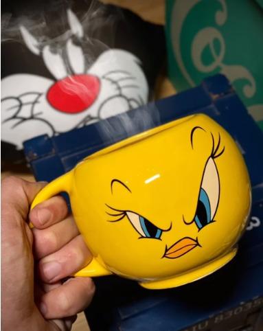 Caneca Bowl Piu-Piu Tweety Bird: Looney Tunes - EV