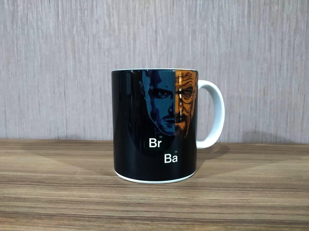 Caneca: ''Br Ba'' - Breaking Bad