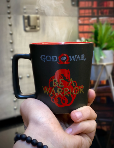 Caneca Buck Be A Warrior: God Of War 400ml