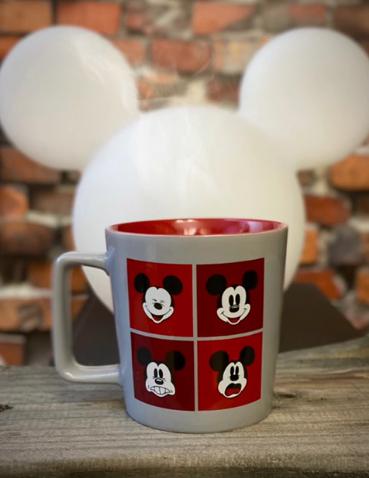 Caneca Buck Mickey Mouse Expressões: Disney 400ml