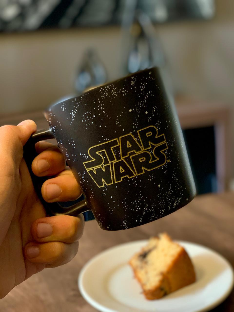 Caneca Buck Star Wars (Galáxia): Star Wars (400ml) - Zona Criativa