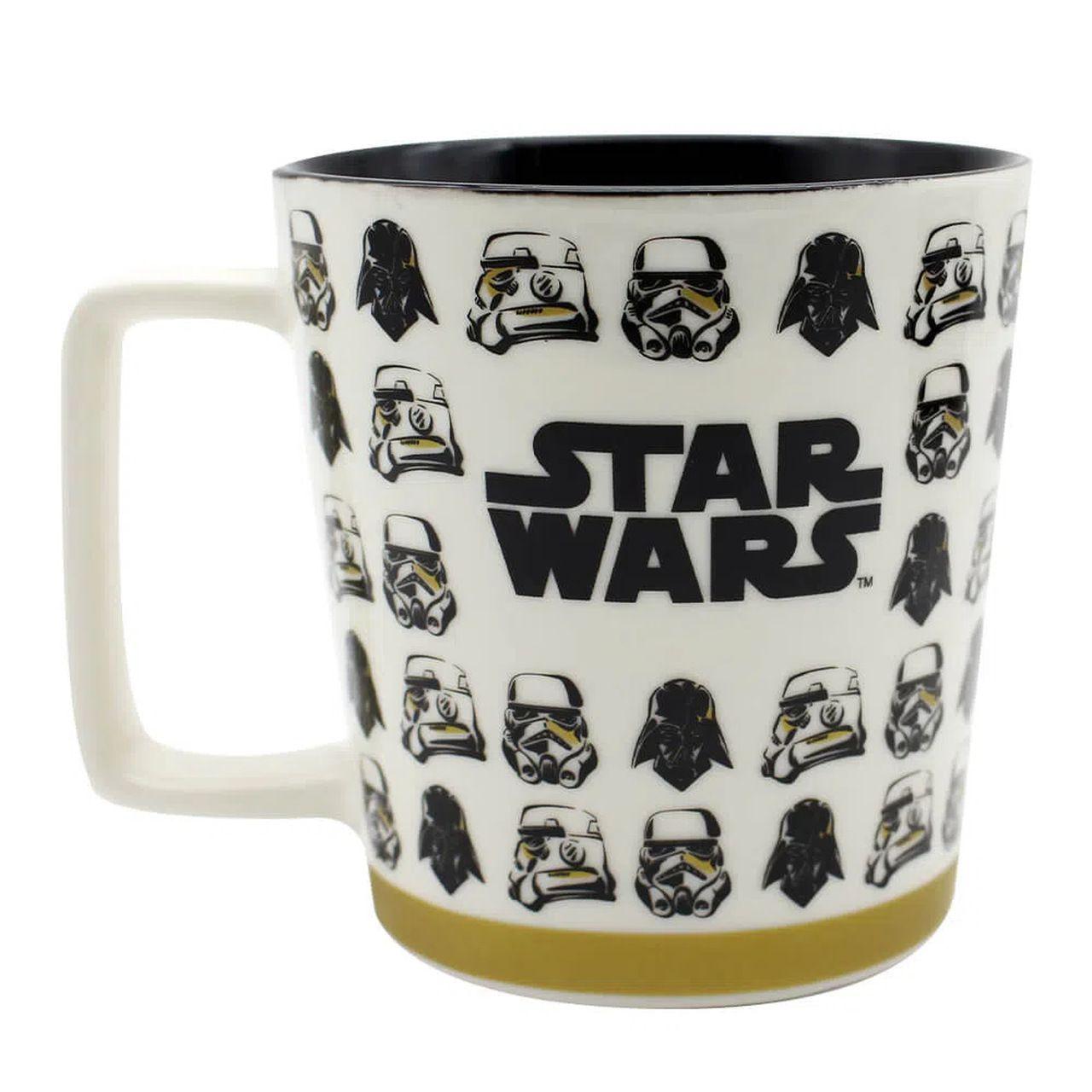 Caneca Buck Stormtroopers e Darth Vader: Star Wars (400ml) - Zona Criativa