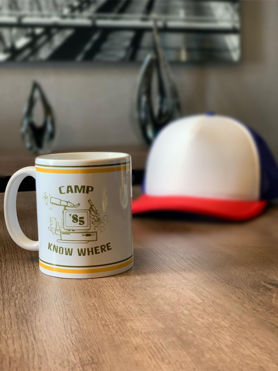 Caneca Camp Know Where: Stranger Things