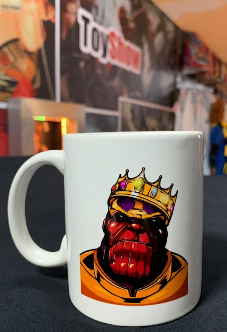 Caneca Notorius Thanos: Vingadores Ultimato (Avengers Endgame) - (300ml)